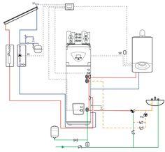 NUOS PLUS SYSTEM, SOLAR, TWIN SYS - Aansluitingen