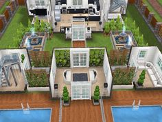 House 74 ground level #sims #simsfreeplay #simshousedesign