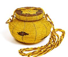 Small Beaded Round Purse - Kenya - Supporting African Weavers