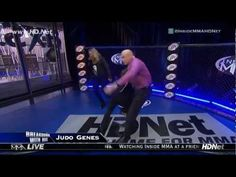 Ronda Rousey's Mom Judo Throws and Armbars Bas Rutten Bas Rutten on Inside MMA!!!!!!!!!
