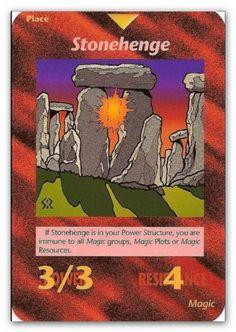 Illuminati Card Stonehenge