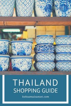 Thailand travel tips: Thailand Shopping Guide: The Best Things to Buy in Thailand [ + Thailand shopping survival tips!] #thailand #travelguide