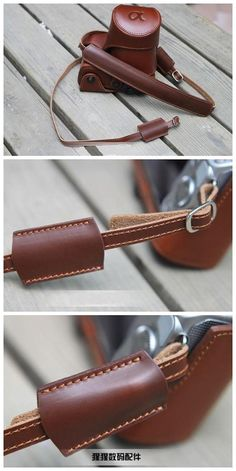 Handmade brown leather camera bag for sony nex5n, $119.00. Love this bag but would prefer in black, if available.