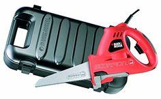 Black + Decker KS890EK Scorpion Powered Handsaw 400 Watts with Kitbox