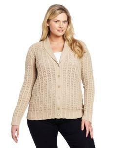 Pendleton Women's Plus-Size Topanga Sweater, Oxford Tan, 2X Pendleton. $138.00