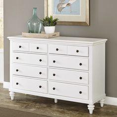 Home Styles Bermuda 8 Drawer Dresser & Reviews | Wayfair