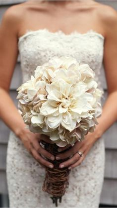 White Delilahs. elegant rustic beautiful