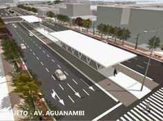 Fortaleza: Prefeitura assegura a implantação do corredor de ônibus BRT BR 116 - Aguanambi