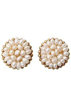 Spiral Pearl Earrings gimmie gimmie