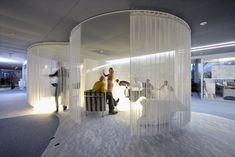 Designed for  comfortable working environment - cool office Interior design
