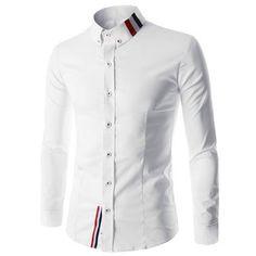 aec9b3dc8b3 Ribbon Decor Shirt. Shirt StyleSlim Fit Dress ...