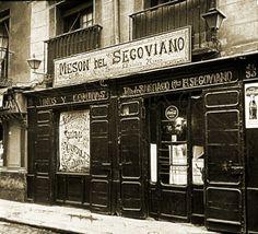 La Posada de San Pedro, en la Cava Baja número 30, fue fundada en 1740. En 1921 el escritor Ramón Gómez de la Serna le cambió el nombre por el de Mesón del Segoviano, ya que  su propietario era natural de este lugar. A sus cenas y celebraciones acudían intelectuales y escritores como Azorín, Pérez de Ayala y Gómez de la Serna, además de los inquilinos y viajeros que se hospedaban en sus habitaciones. Madrid