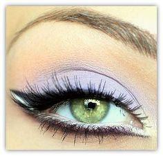 Vegan Mineral Makeup Eye Shadow Handmade -- Unicorn #pastel #makeup #eye shadow #eye shadow #beauty #vegan #purple #unicorn #shabby chic