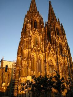 Dom Cathedral in Cologne Germany, more impressive than notre dame in paris, in my oppinion