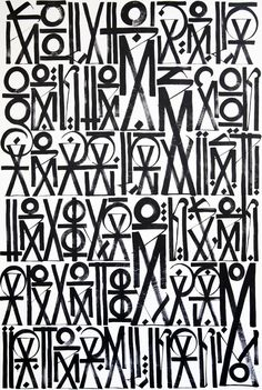 Retna a. Marquis Lewis - part of Eternal Sunshine Diptych, 2011 Graffiti Lettering Fonts, Graffiti Writing, Graffiti Tagging, Typography Poster, Tag Street Art, Street Signs, Graffiti Murals, Zen Art, Calligraphy Letters