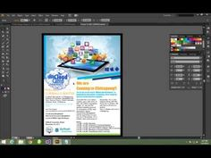 ▶ How to make a Poster Using Illustrator - YouTube