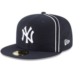 Men s New Era Navy New York Yankees Y2K Soutache 59FIFTY Fitted Hat 2ed52695ef40
