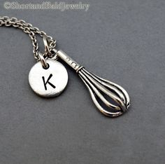 Hey, I found this really awesome Etsy listing at https://www.etsy.com/listing/178821019/whisk-necklace-kitchen-whisk-charm
