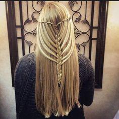 Waterfall Mermaid Braid - Hairstyles How To