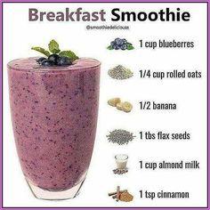 Nutribullet Recipes, Fruit Smoothie Recipes, Smoothie Drinks, Smoothie Diet, Healthy Smoothies, Healthy Drinks, Strawberry Smoothies, Green Smoothies, Healthy Food