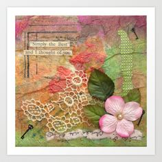 Simply The Best Art Print by Dale Anne Potter