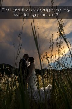 Do I get the copyright to my wedding photos? What's the difference between a copyright and printing rights? by J. La Plante Photo