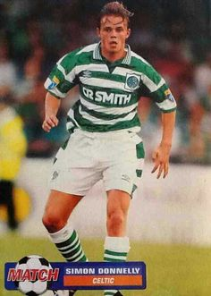Simon Donnelly of Celtic in 1997.