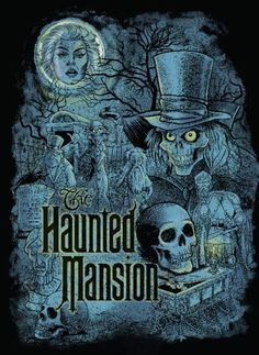 The Haunted Mansion will celebrate 45 years this August at Disneyland park. While I don't remember much from my first ride at Walt Disney World in July I've grown to love this wickedly fun attraction in all its incarnations at Disney Parks. Walt Disney, Disney Parks, Disney Rides, Disney Magic, Disney Halloween, Halloween Art, Halloween Coloring, Halloween Treats, Halloween Decorations