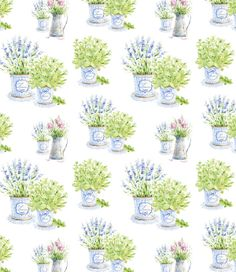 watercolor Herbs of Provence by Natalia Tyulkina, via Behance