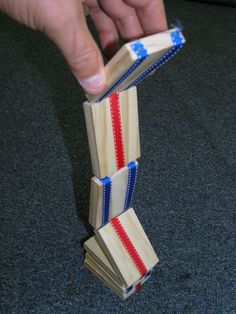 A Traditional Jacob's Ladder(My 10 year old saw one and wants to make on).