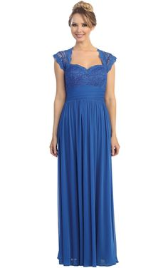 A-line Chiffon Zipper Empire Sweetheart Bridesmaid Dresses_1