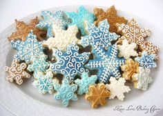 royal icing decorated christmas cookies - Google Search