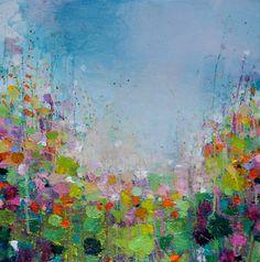 "Saatchi Art Artist Sandy Dooley; Painting, ""Rainy Landscape  (sold)"" #art"