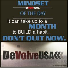 Check out www.facebook.com/DeVolveUSA for more great fit tips and motivation.