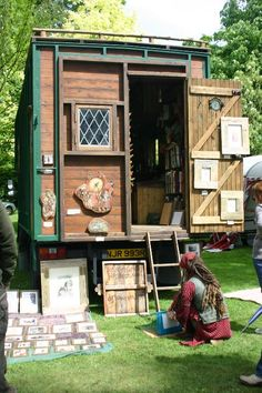 bedford with art display at weird & wonderful wood festival, suffolksmall