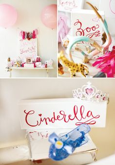 """Favorite Things Modern Glam Birthday Party; could use this idea for a """"Things She Loves"""" Kate Spade inspired bridal shower"""