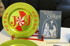 Pinterest Party Charger Plates