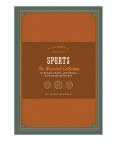 Look at this #zulilyfind! Ultimate Book of Sports Hardcover #zulilyfinds