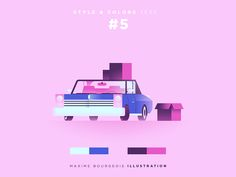 Style & Colors: Moving On by Maxime Bourgeois - Dribbble