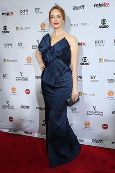Christina Hendricks Photos: International Academy of Television Arts & Sciences Awards