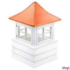"Good Directions Guilford Cupola (22"" x 32"" - Vinyl), Size 22"" x 32"" (Metal), Outdoor Décor"