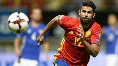 Diego Costa couldn't hit the net against Italy