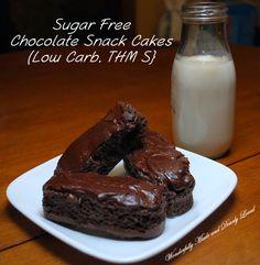 Sugar Free Chocolate Snack Cakes