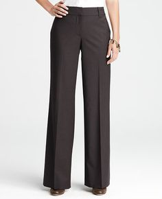 Tall Curvy Tropical Wool Trousers