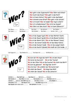 Fragen richtig beantworten! Arbeitsblatt - Kostenlose DAF Arbeitsblätter