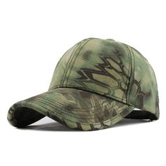 2a54f54d19a Men s Snapback Camouflage Tactical Hat Army Tactical Baseball Cap Head  Camouflage Caps Sun Hat Golf Hats
