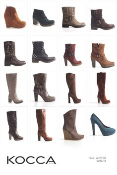 Kocca shoes collection 2012-13