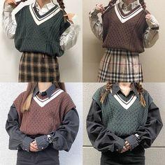 ファッション ファッション in 2019 Korea Fashion, Asian Fashion, Girl Fashion, Fashion Outfits, Fashion Design, Pretty Outfits, Cool Outfits, Japonese Girl, Lit Outfits