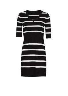 MANGO - Striped knit dress
