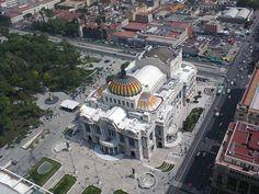 """""""Palacio de Bellas Artes desde el mirador de la Torre Latinoamericana"""", foto 16"""